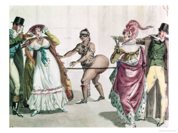 The-Hottentot-Venus-in-the-Salon-of-the-Duchess-of-Berry-1830-Posters